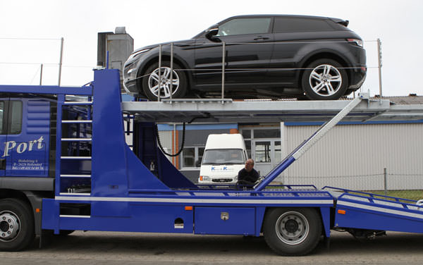 Autotransport mit CarPort